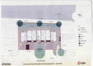 Chaloners Road development layout click to enlarge