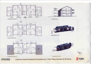 Chaloners Road development plans click to enlarge