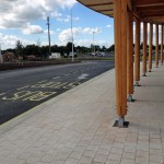 Askham Bar bus waiting area