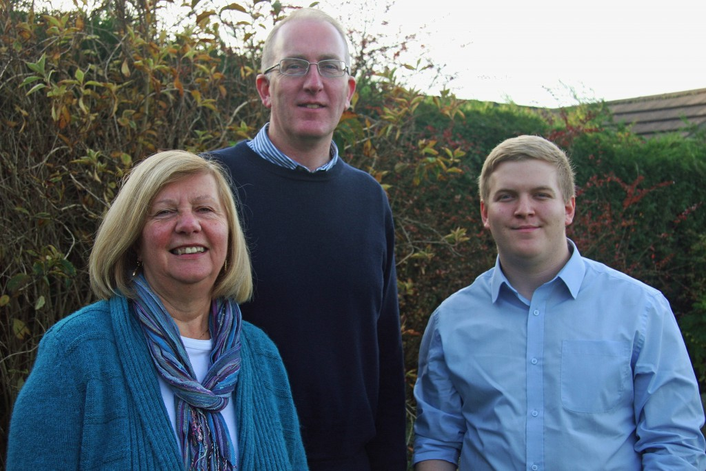 Cllr Ann Reid, Stephen Fenton and Ashley Mason who will contest the Dringhouses and Woodthorpe Ward