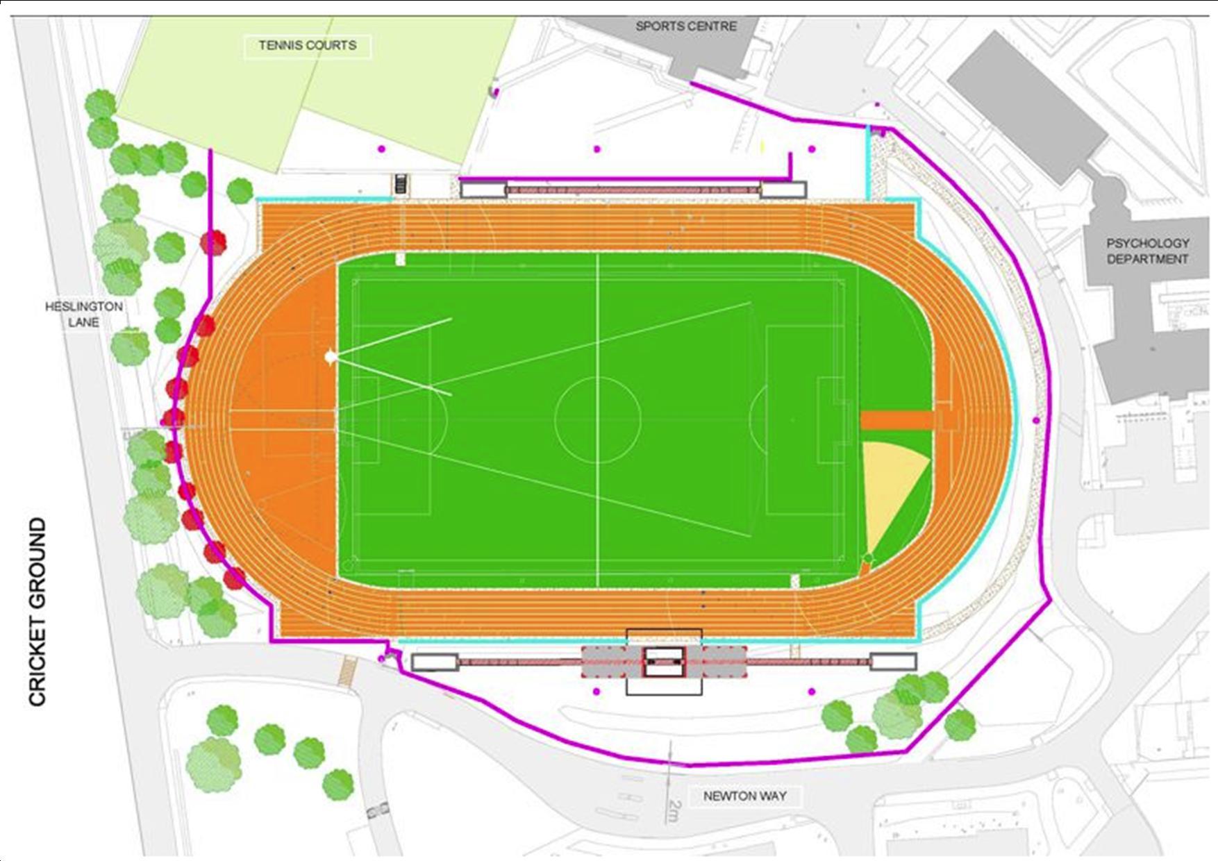 Athletics track June 2015