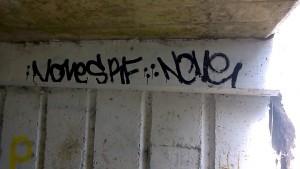 Graffitti under pass 3