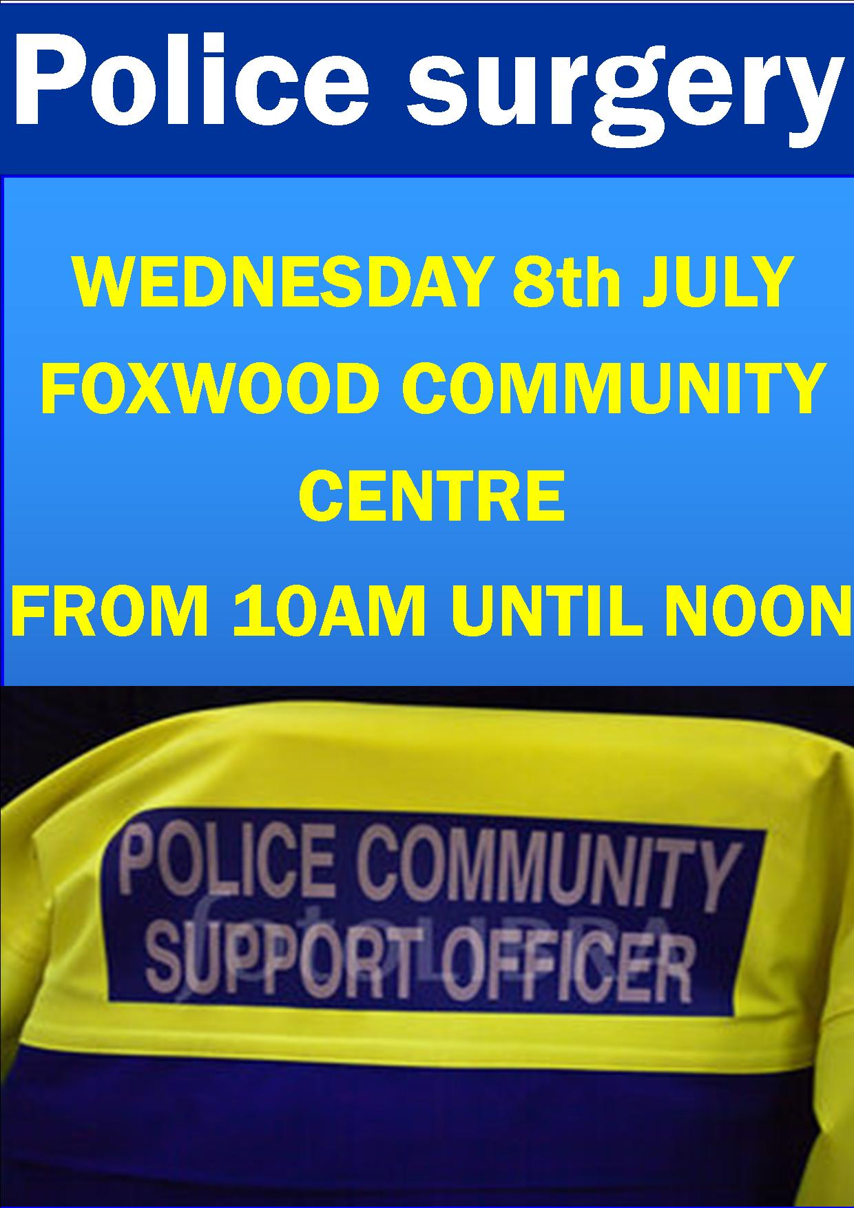 Police surgery 8th July
