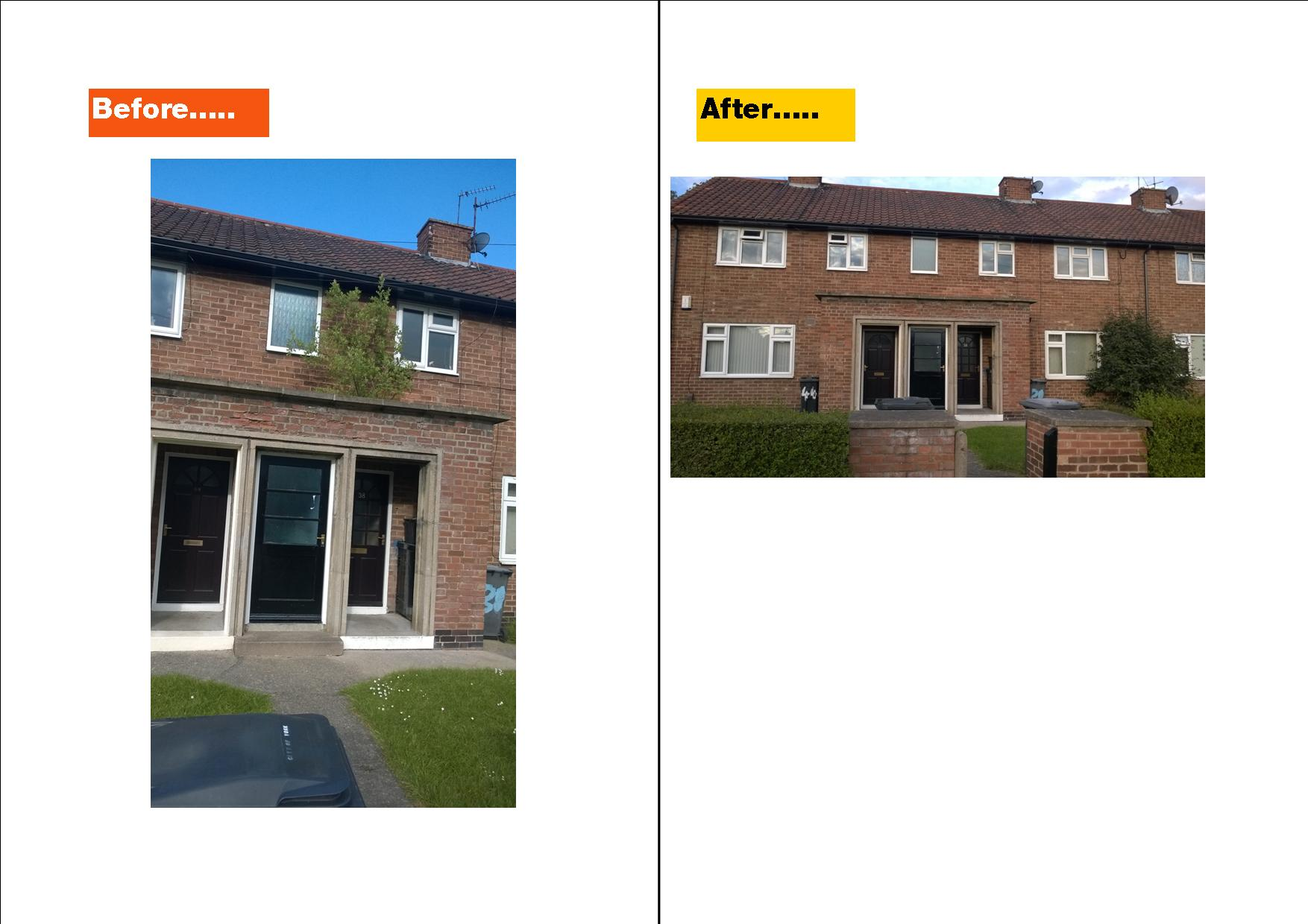 Before and after intervention by your local Lib Dem councillors