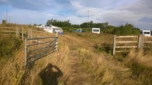Moor Lane gate