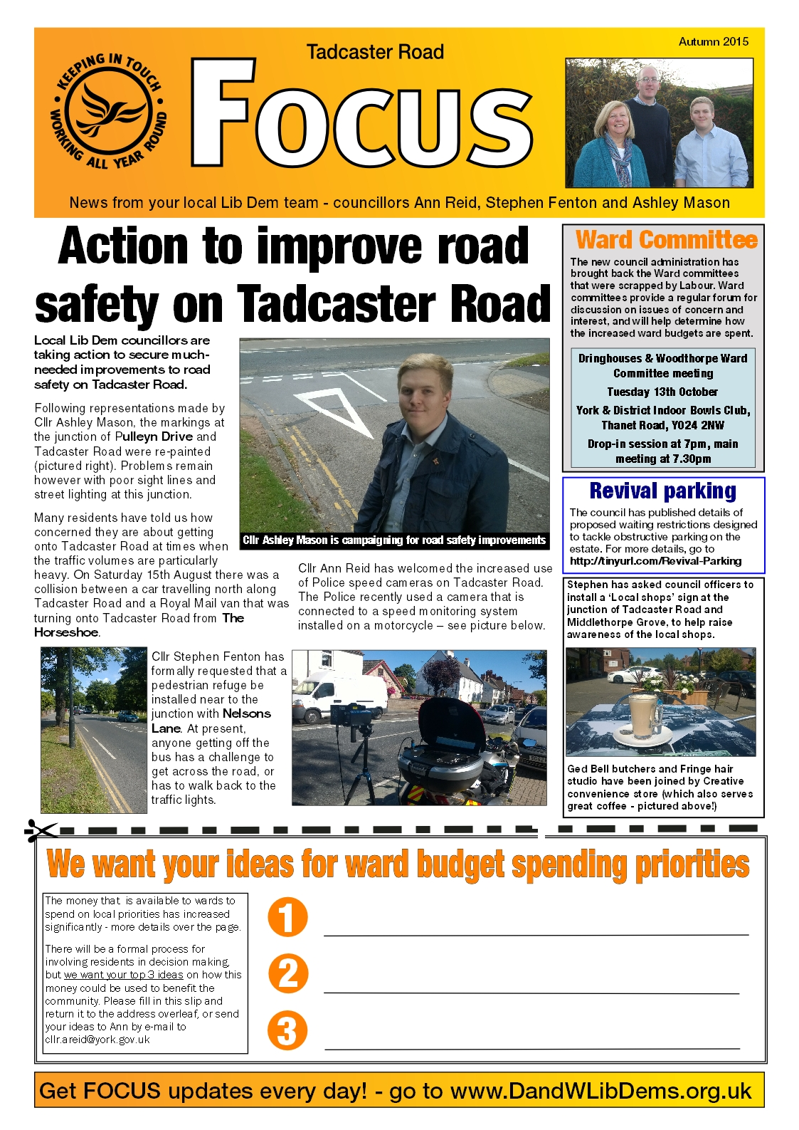 Tadcaster Rd Focus pg1