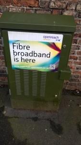 BT fibre cabinet