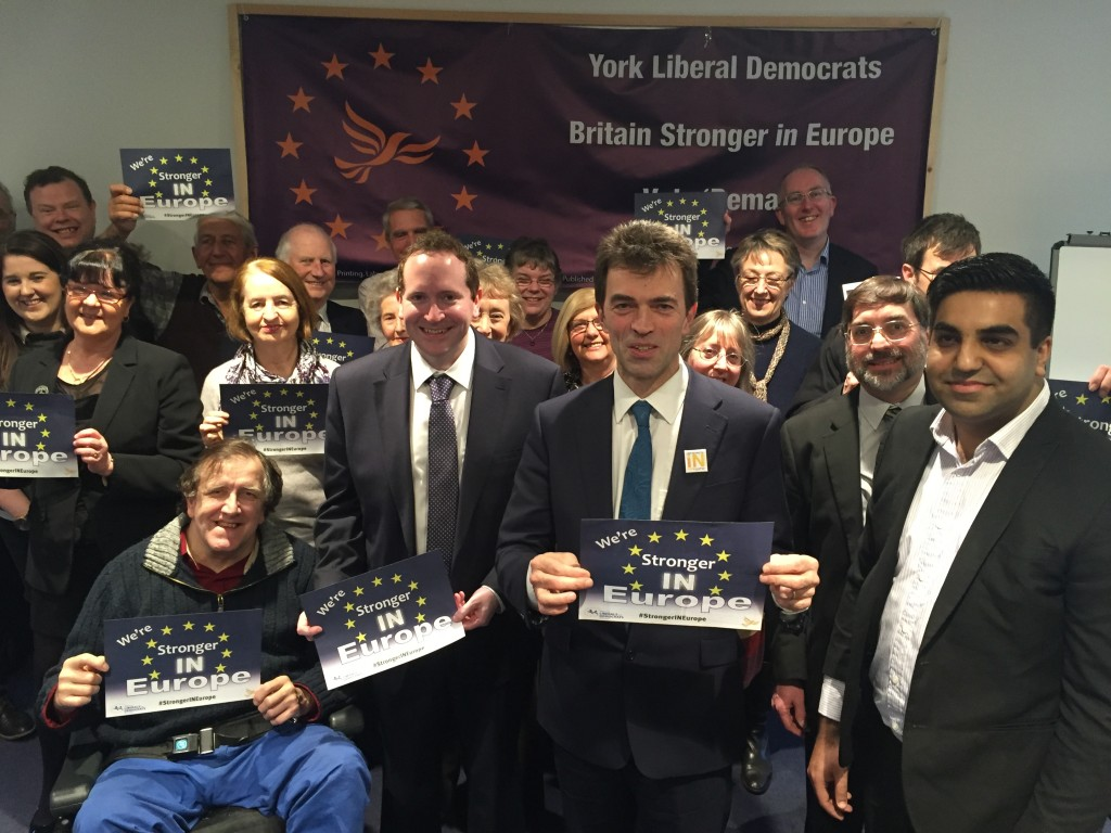 Tom Brake EU Launch