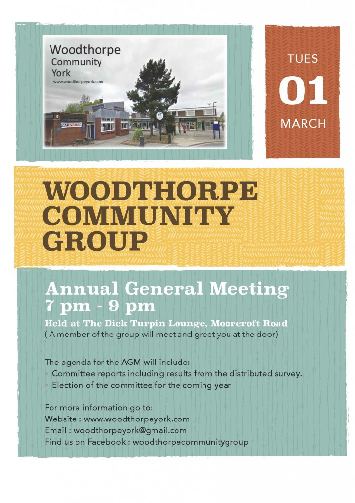 Woodthorpe Community Group AGM