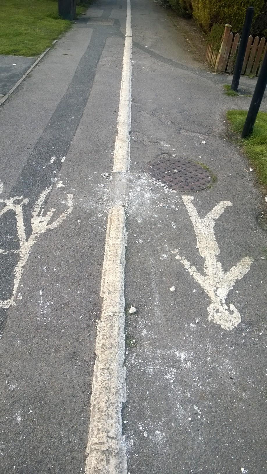 Lomond Ginnel markings damaged