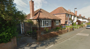 Application made to demolish bungalow on Mayfield Grove and replace with houses.