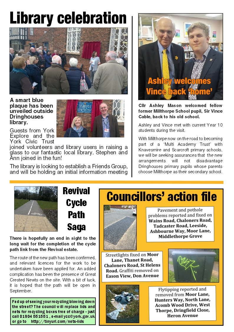 Tadcaster Road Focus page 2