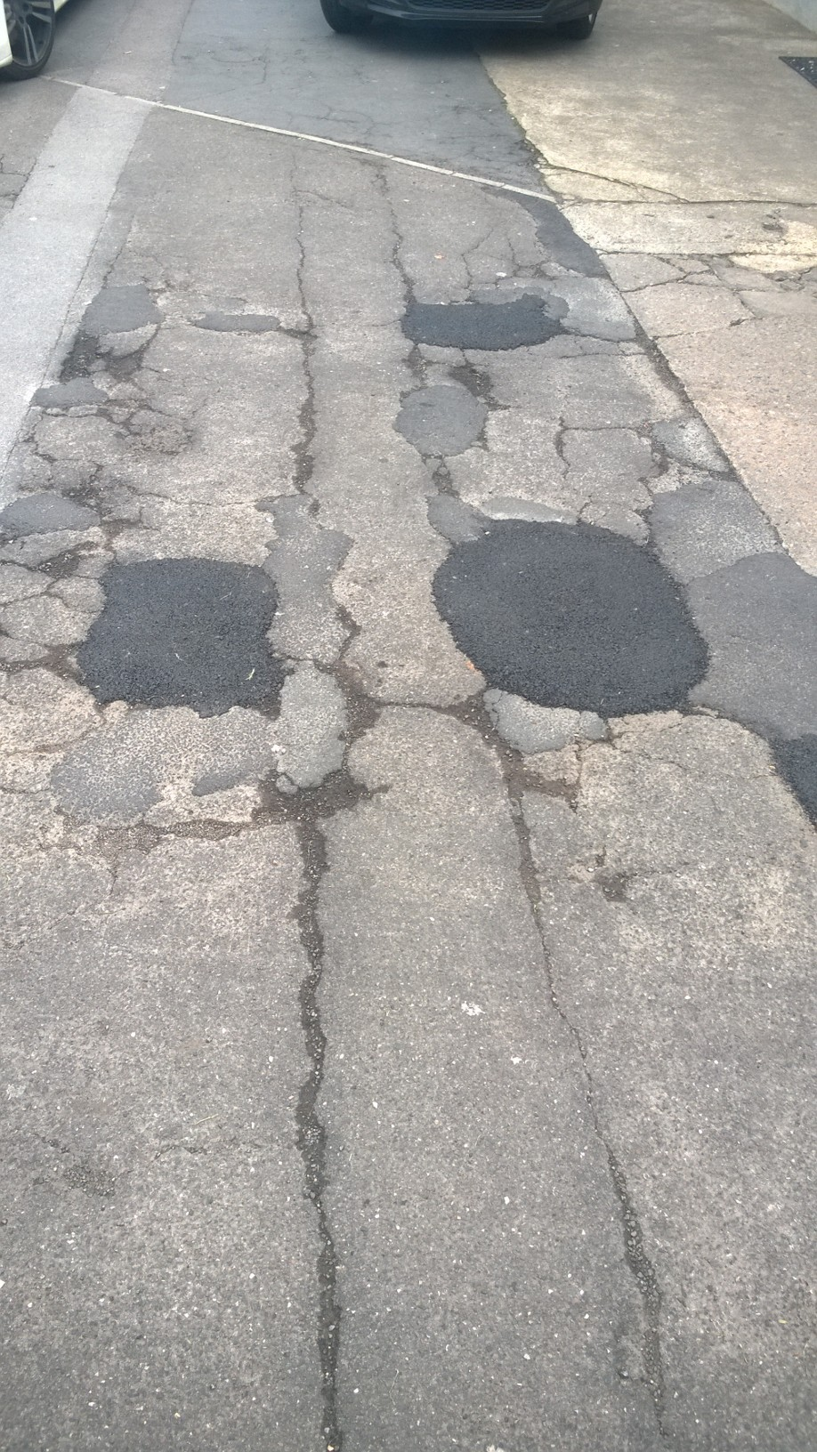 Tadcaster Road footpath repaired
