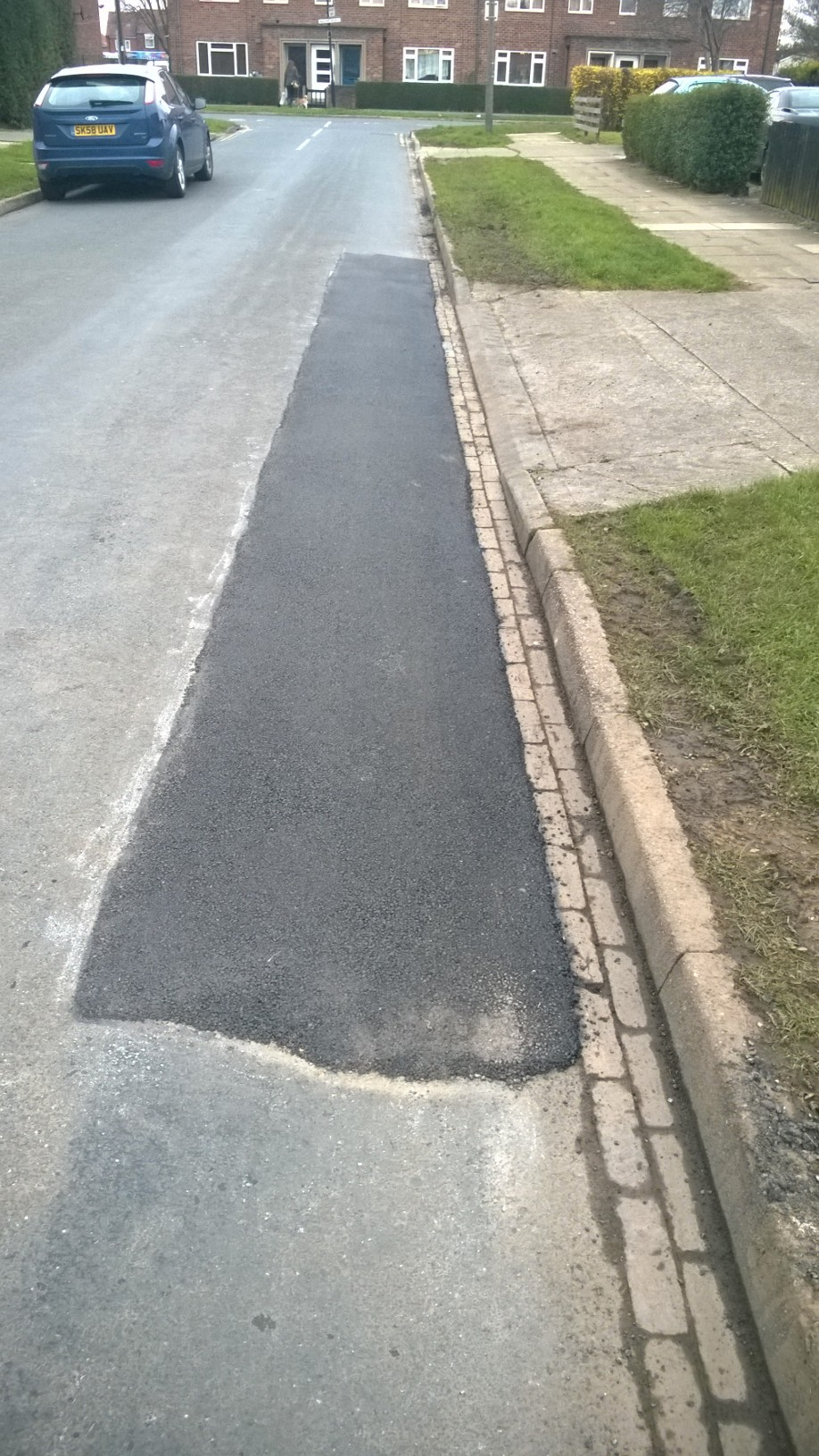Wharfe Drive repaired