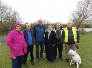 Cllr Stephen Fenton at Chapman's Pond in Dringhouses where local funding has supported a Volunteer Bailiff Scheme to protect and enhance the popular local pond
