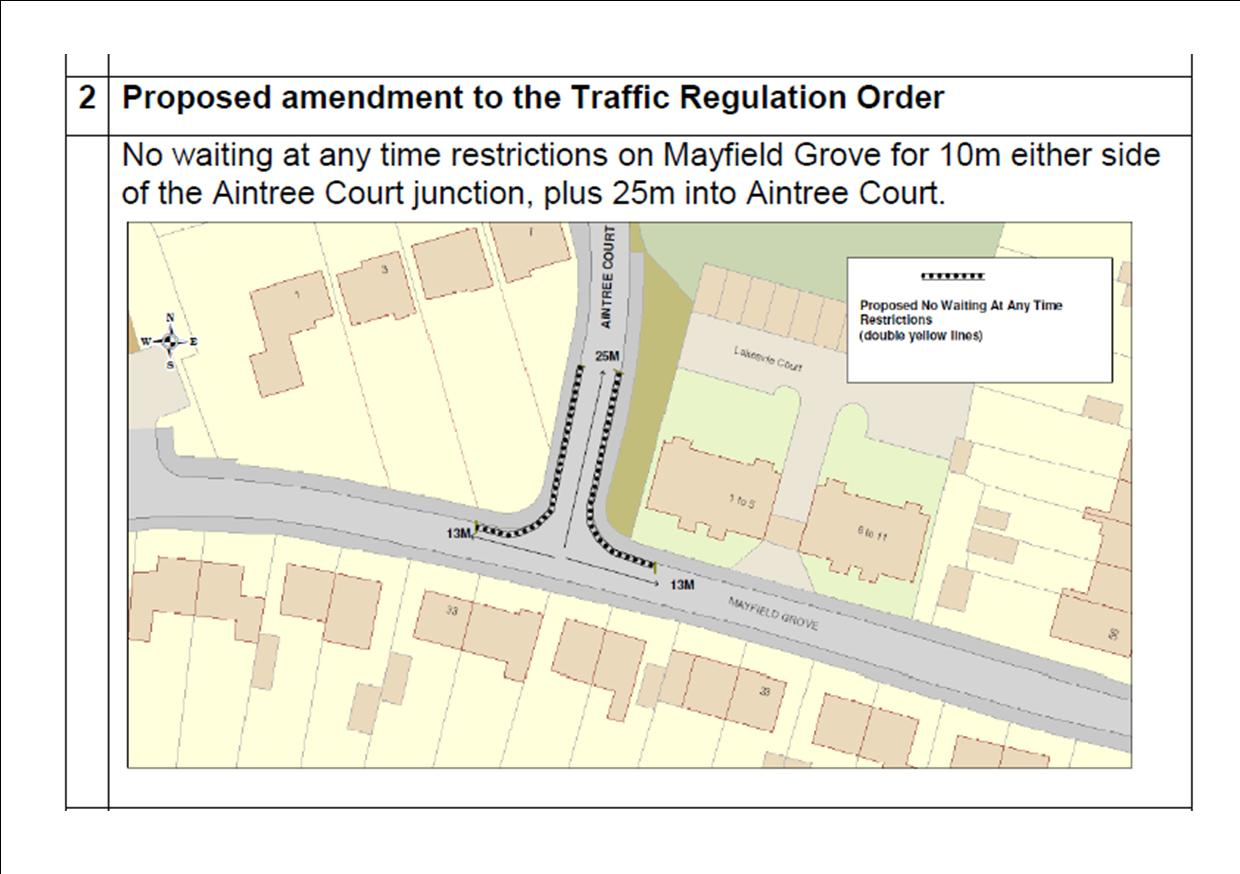 Mayfield Grove restrictions