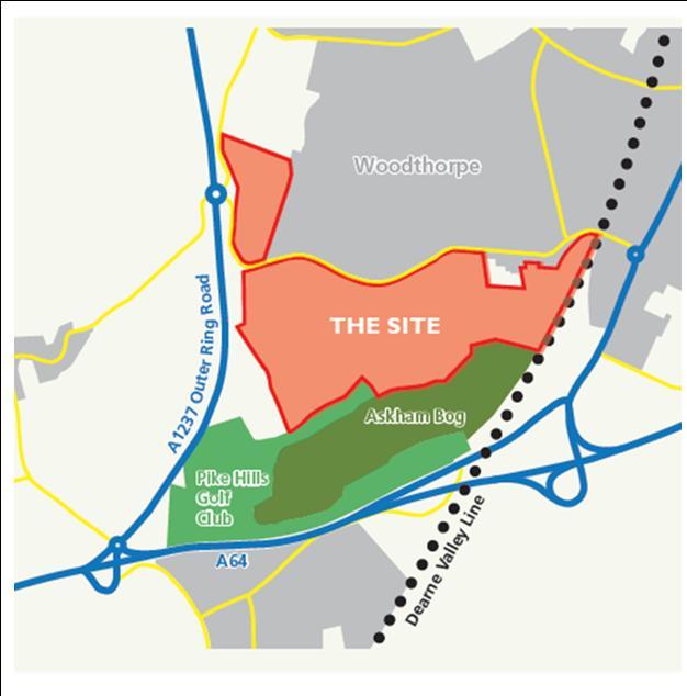 Moor Lane site