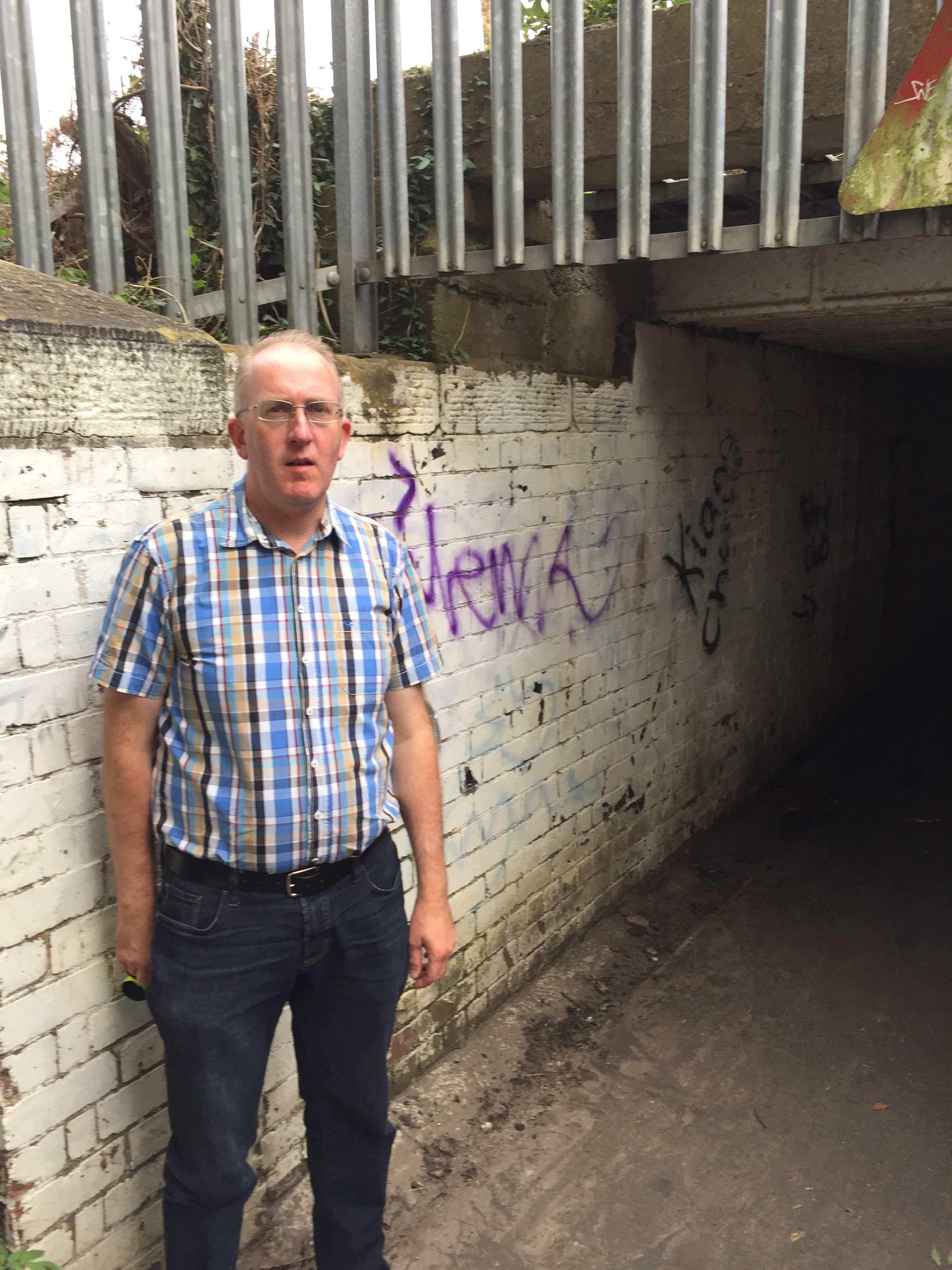 Hob Moor underpass graffiti (2)