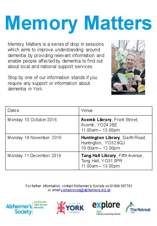 Memory Matters Oct-Dec