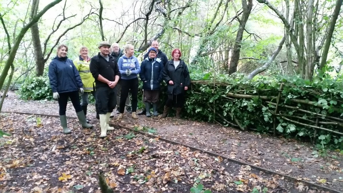 Acomb Wood FSA volunteers