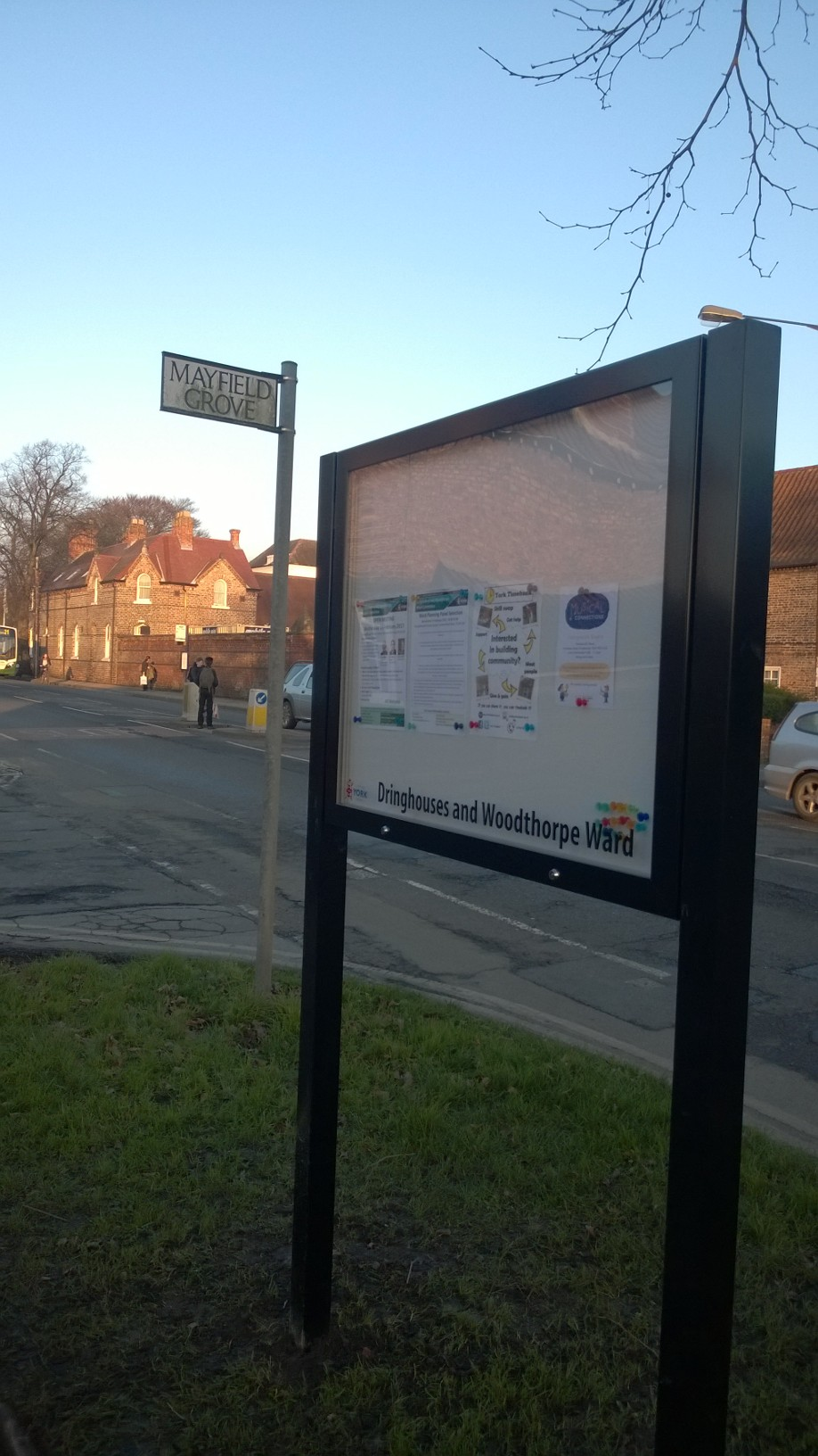 Mayfield Grove noticeboard