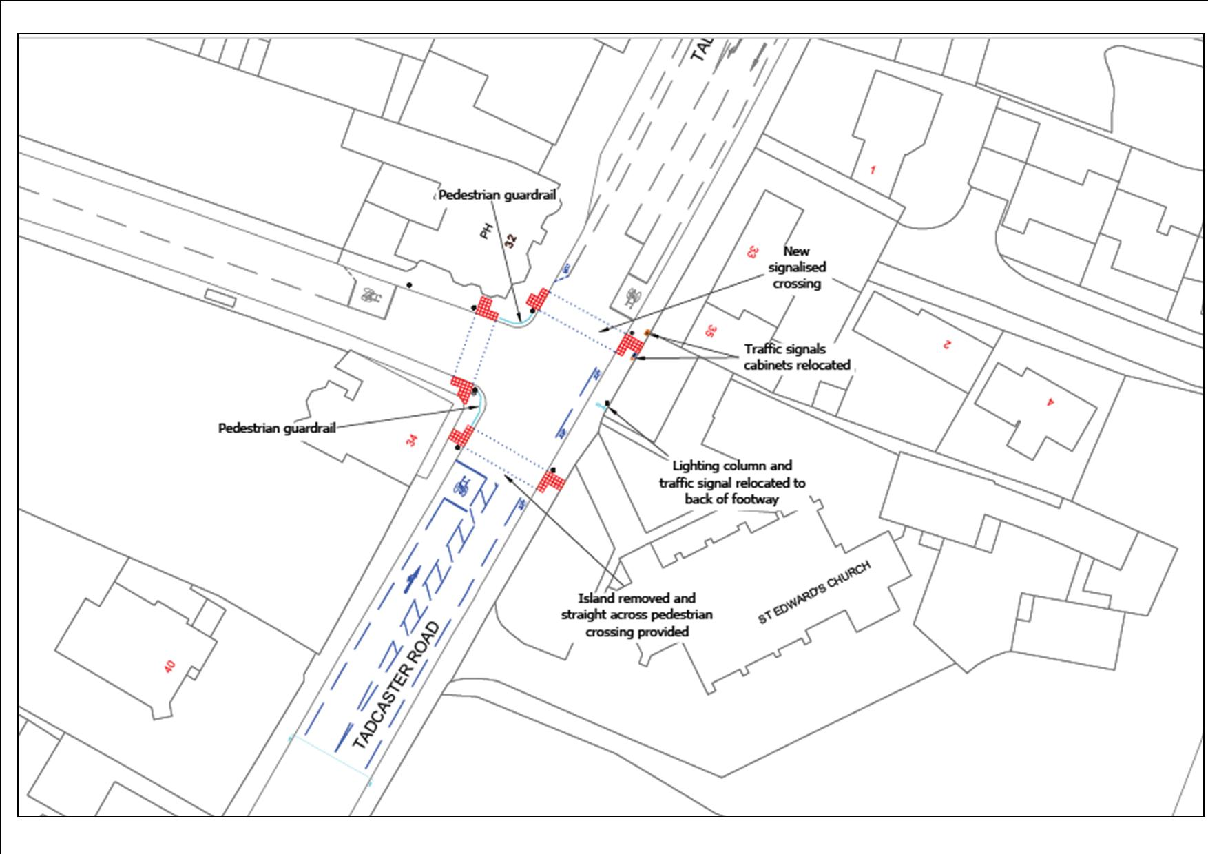 date set for start of traffic signals work on tadcaster road cllr Construction Site Signage works will start on monday 30th april for the main civils groundworks with all work expected to be fully pleted by friday 8th june 2018