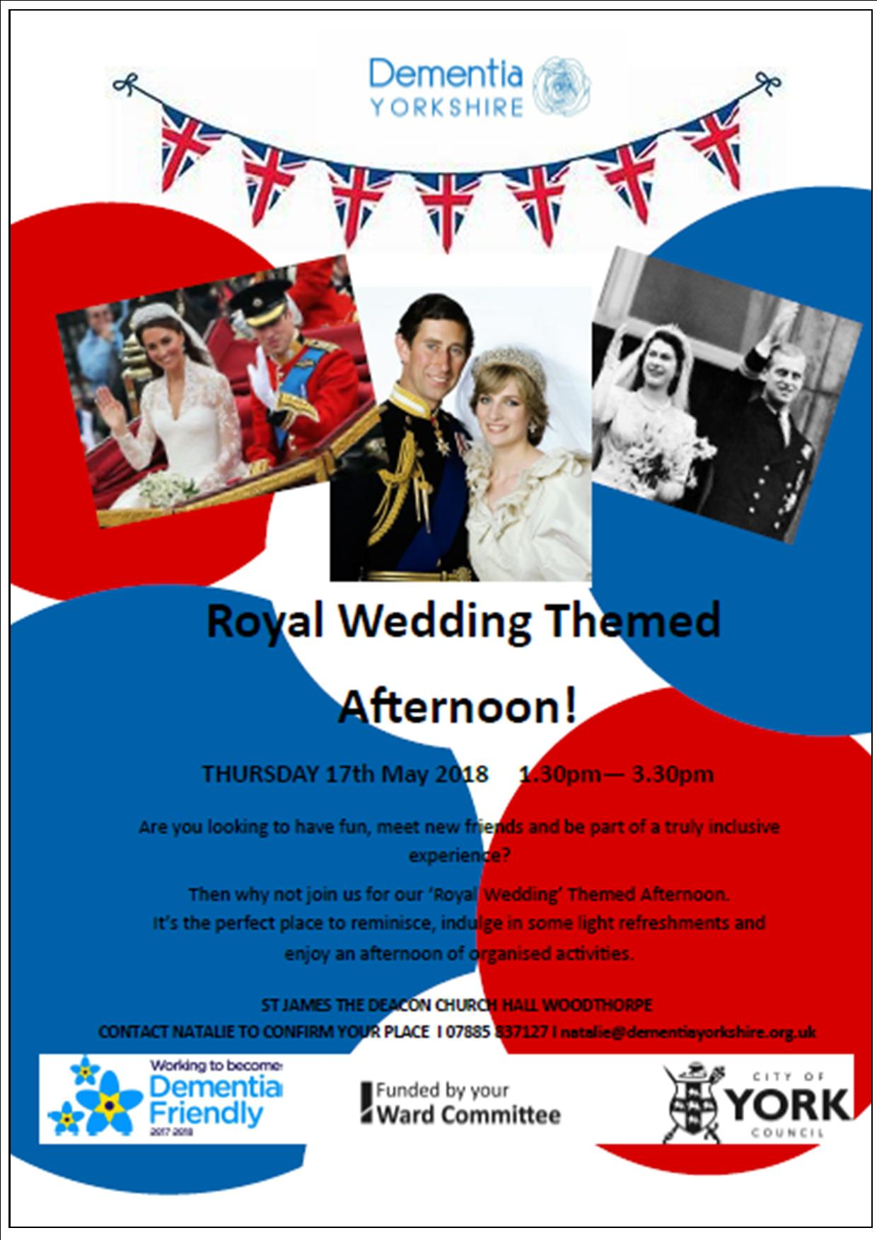 Woodthorpe gears up for Royal Wedding festivities | Cllr Ann Reid ...